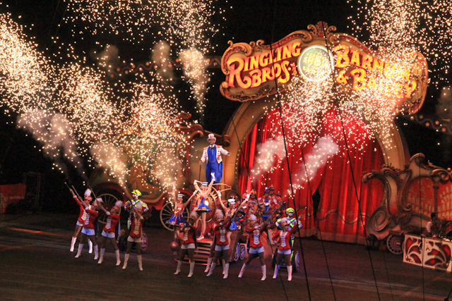 Ringling Brothers Circus Tours History