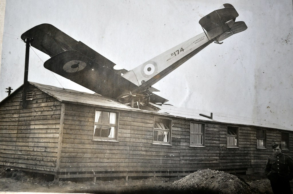 Crash - South Carlton - Avro 504 | ... from an album compile… | Flickr