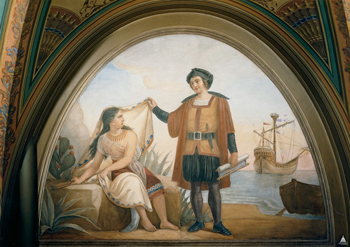 Columbus and the Indian Maiden | by USCapitol