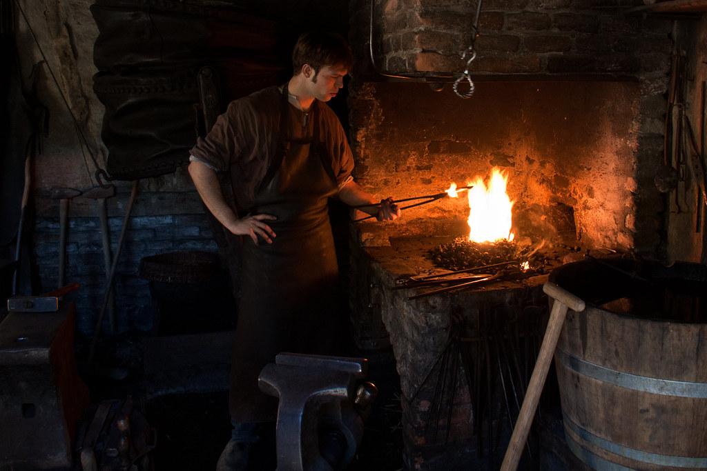 Medieval Blacksmith Hans Splinter Flickr