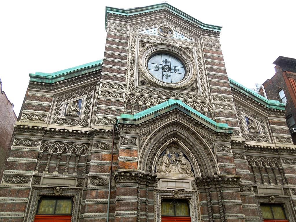... New St. Aloysius Roman Catholic Church -- 209 - 217 West 132nd Street,  New