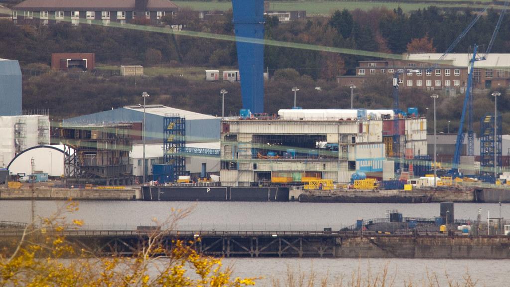 Hms Queen Elizabeth Progress >> HMS Queen Elizabeth, assembly progress at Babcocks, Rosyth…   Flickr