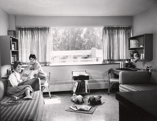 College of the Holy Names dorm room, 1964 | by Holy Names University