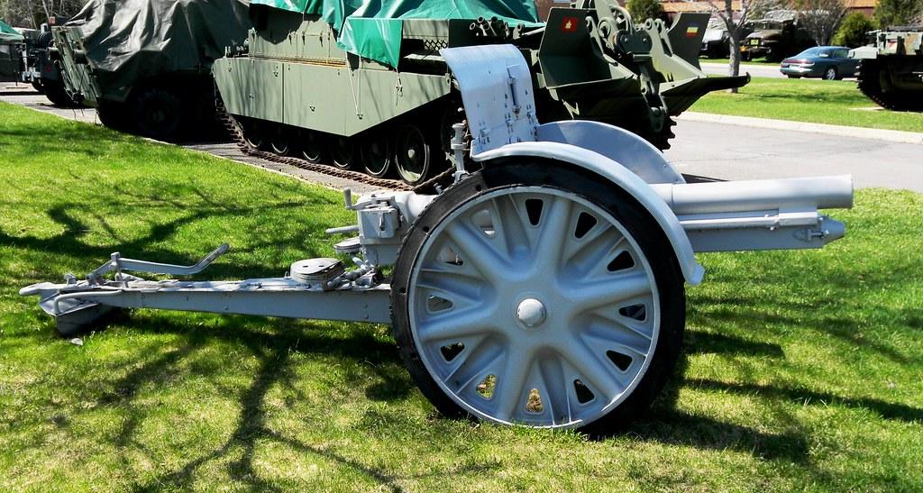 Italian Great War 75-mm Cannon...