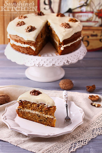 Carrot cake | by Irina Kupenska