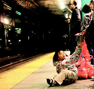 boston boylston street station green line november 11 2011 little girl | by photographynatalia