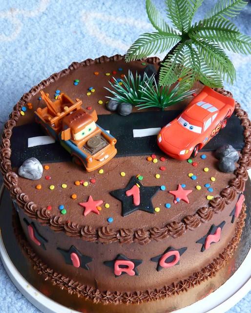 Car Cake Topper Birthday