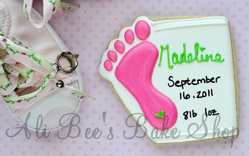 birth announcement | by Ali Bee's Bake Shop