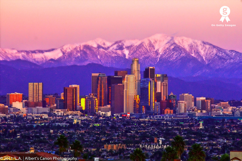 Los Angeles, a prelude to winter!