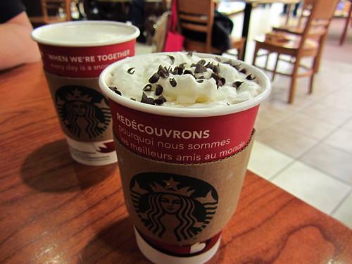 Review: Starbucks - Egg Nog Latte | Brand Eating