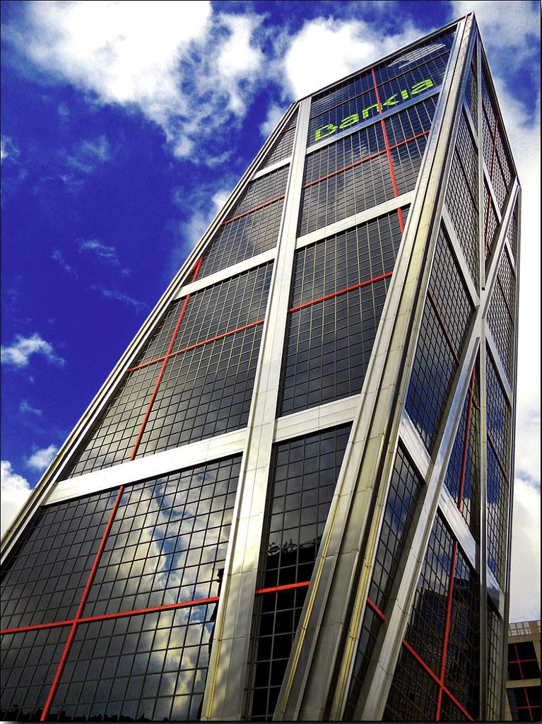 Madrid puerta de europa torres kio bankia 18 09 2011 - Torres kio arquitecto ...