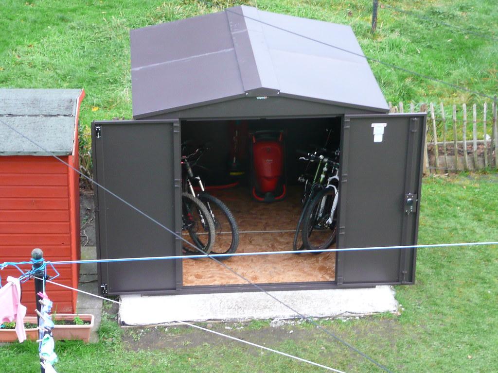 asgard bike shed singletrack forum. Black Bedroom Furniture Sets. Home Design Ideas