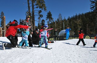 Learning to Ski at Sierra-at-Tahoe | by Tahoe South