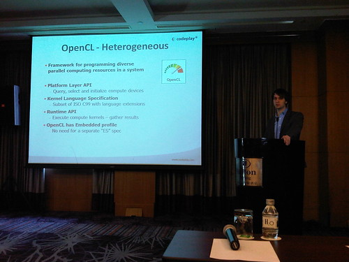 Codeplay discusses OpenCL | by Khronos Group