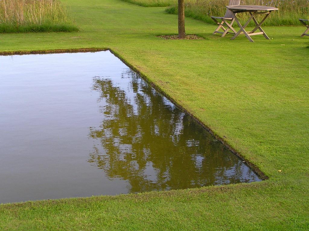 Le miroir d 39 eau le jardin plume auzouville sur ry se for Miroir plume