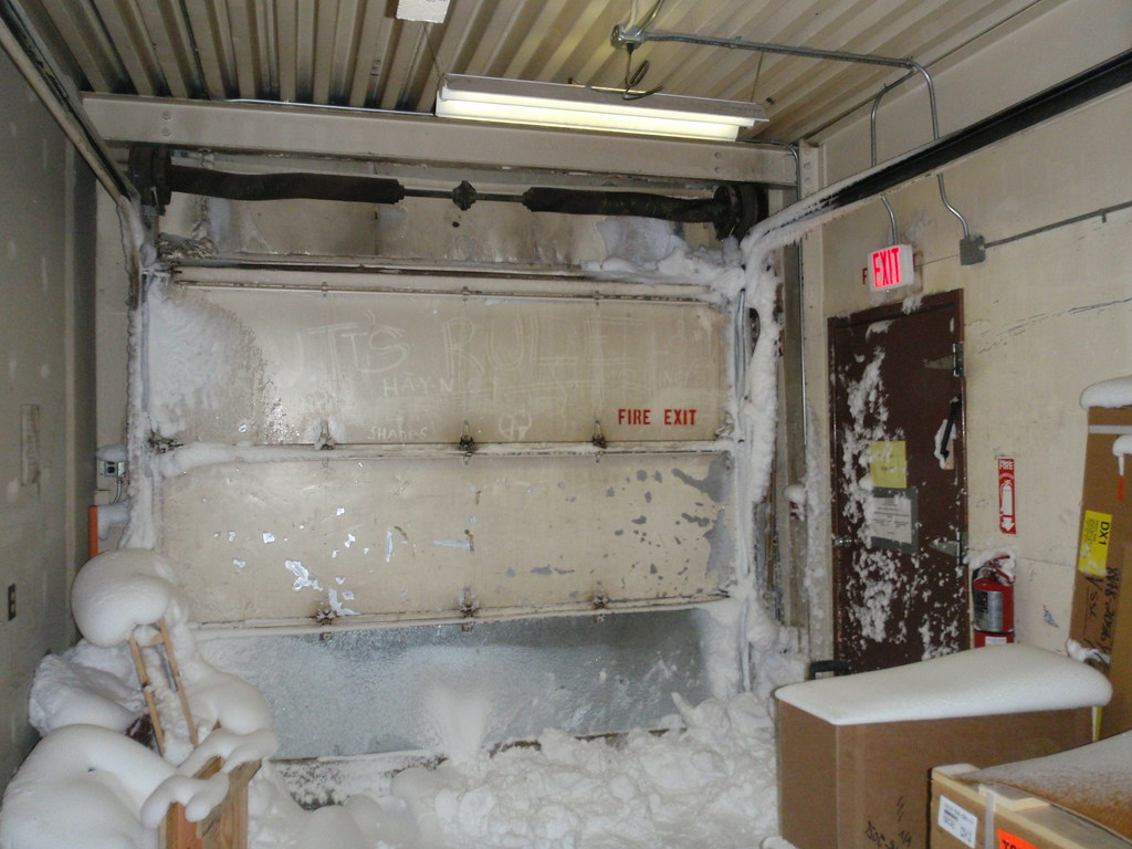 Inside Bldg 136 After A Condition 1 Storm Alan Light