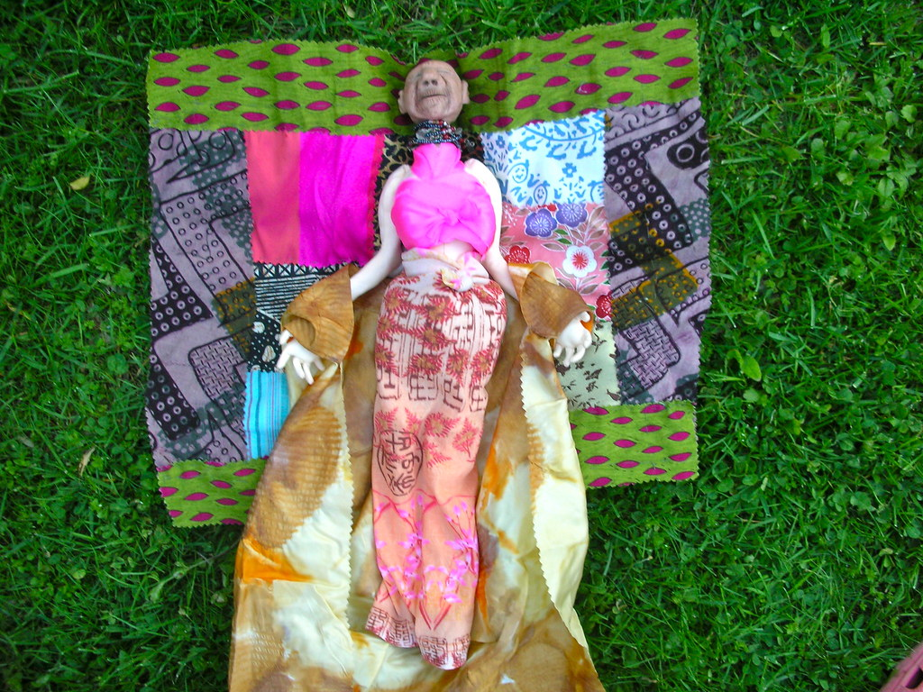 traveling doll project 2011 bent willow woman resting on t flickr rh flickr com