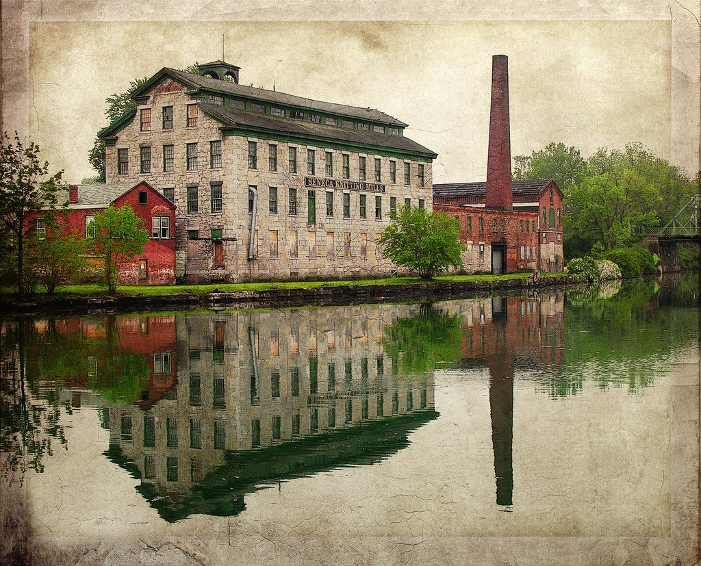 Knitting Mills : Seneca knitting mill a few years ago we cruised the erie