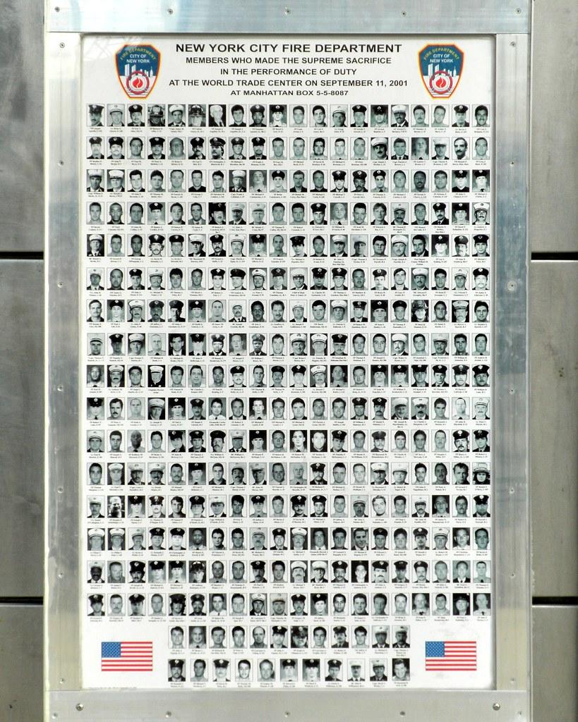 Fdny 9 11 Poster World Trade Center Manhattan New York