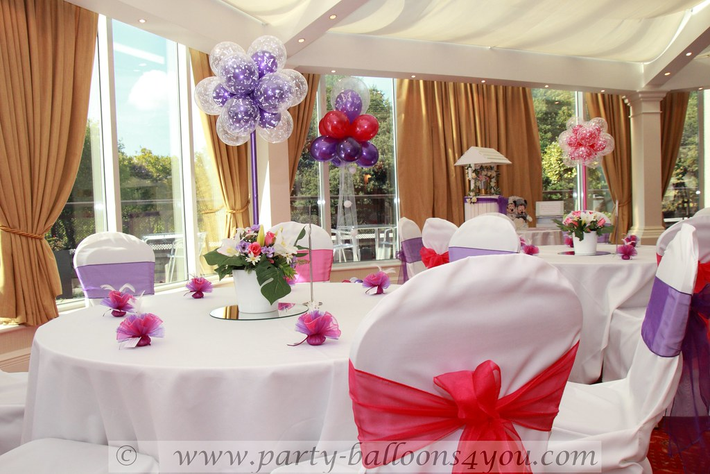 Hot Pink And Purple Wedding Decorations Wedding Decoration Flickr