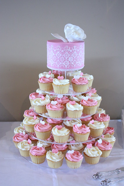 Images Of Party Cupcake : Engagement party cupcakes Flickr - Photo Sharing!