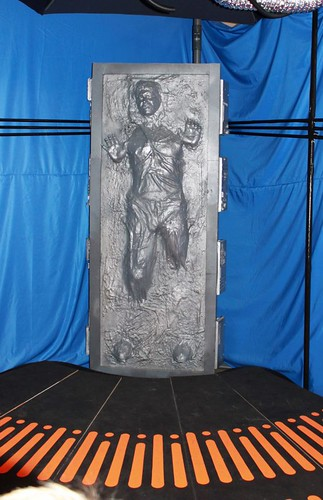 Han Solo in carbonite | by milkboymedia