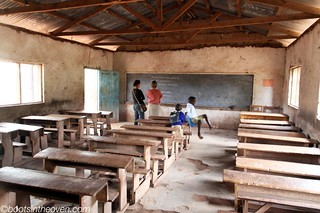 Classroom at Mto wa Mbu Primary | by Boots in the Oven