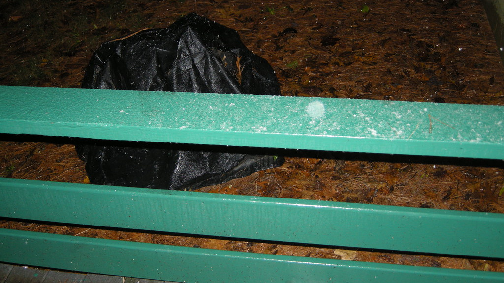 Ice and snow on the railing james albright flickr