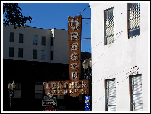Oregon Leather Company | by Vintage Roadside
