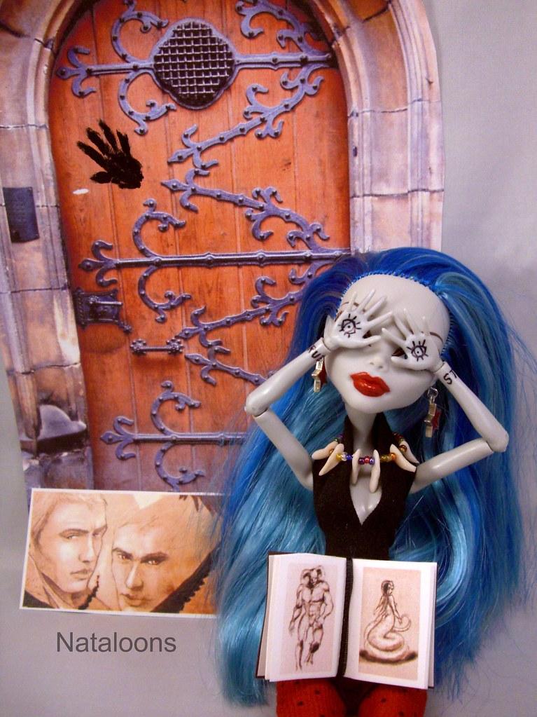 Ghoulia as Karou from ...