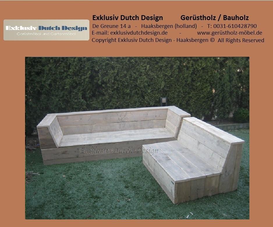 bauholz lounge bank6. Black Bedroom Furniture Sets. Home Design Ideas
