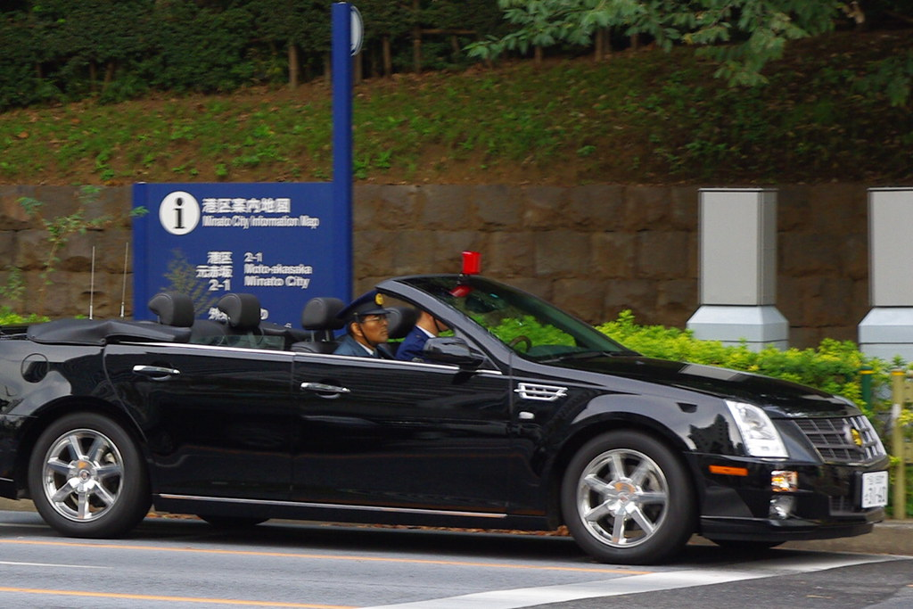Japanese Police Cadillac CTS Convertible  Steve  Flickr
