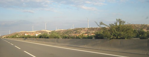 Larnaca windmills | by @CyprusPictures