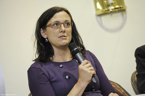 Cecilia Malmström, European Commissioner for Home Affairs | by Security & Defence Agenda