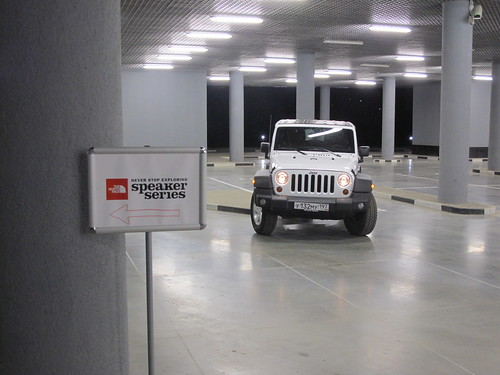 Jeep people thenortheface moscow jeep wrangler garage flickr for Garage a persan