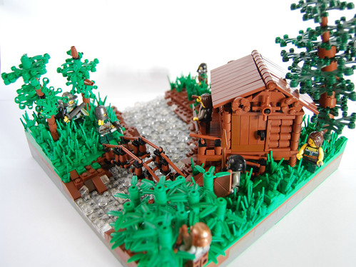 The Cabin by the Stream | by ShareburG
