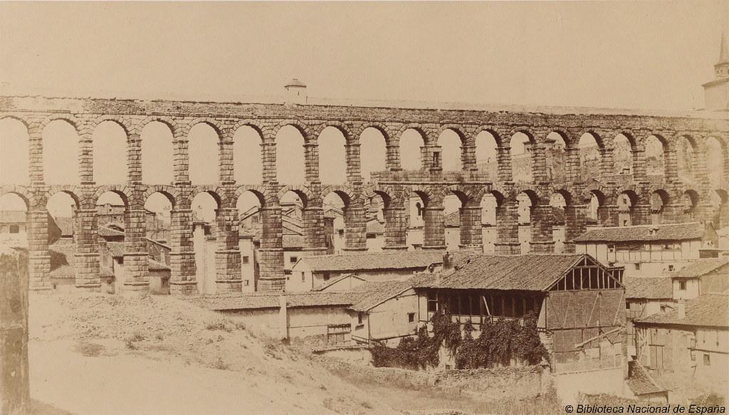 Acueducto de segovia autor clifford charles 1819 - Biblioteca publica de segovia ...