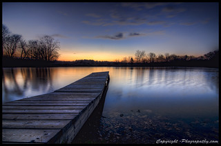 Dock at Sunrise | by John Davenport Photography