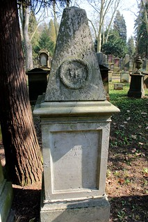 Grave of Jeannille Goldschmidt, nee Kann (1802-1848) / One of the oldest graves are not marked. | by S. Ruehlow