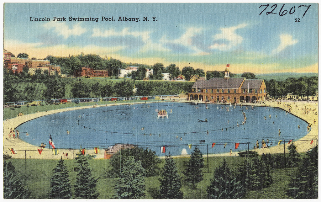 Lincoln Park Swimming Pool Albany N Y File Name 06 10 Flickr