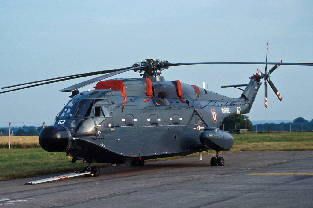 French Navy Aérospatiale SA 321 Super Frelon | French Navy ...