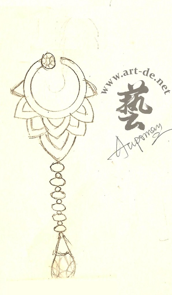 Jewelry-Design-Sketch -Earring-1 | Jewelry Design Drawing (E… | Flickr