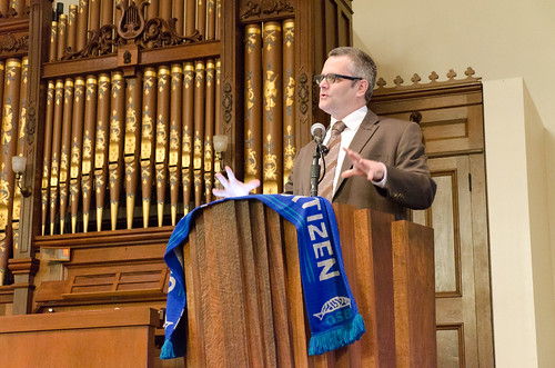 Keynote Address by Portland Mayor Sam Adams | by reidab
