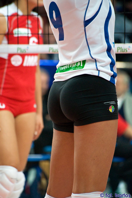 For girls volleyball shorts big butts Seldom.. possible