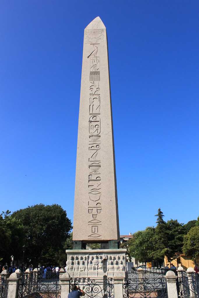 Istanbul: Obelisk of Theodosius  The Obelisk of ...