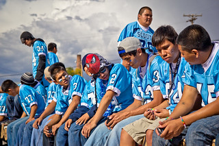 """Scouts' Convocation"" // Window Rock High School Fighting Scouts Football 