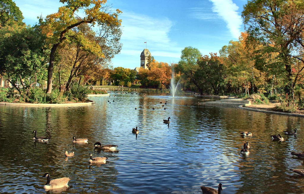 Duck Pond Assiniboine Park Winnipeg Manitoba Canada Flickr