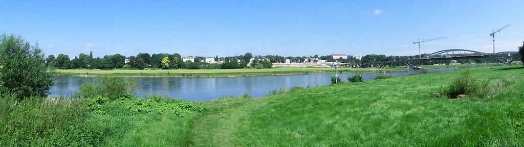 Dresden Waldschlösschenbrücke Weltkulturerbe