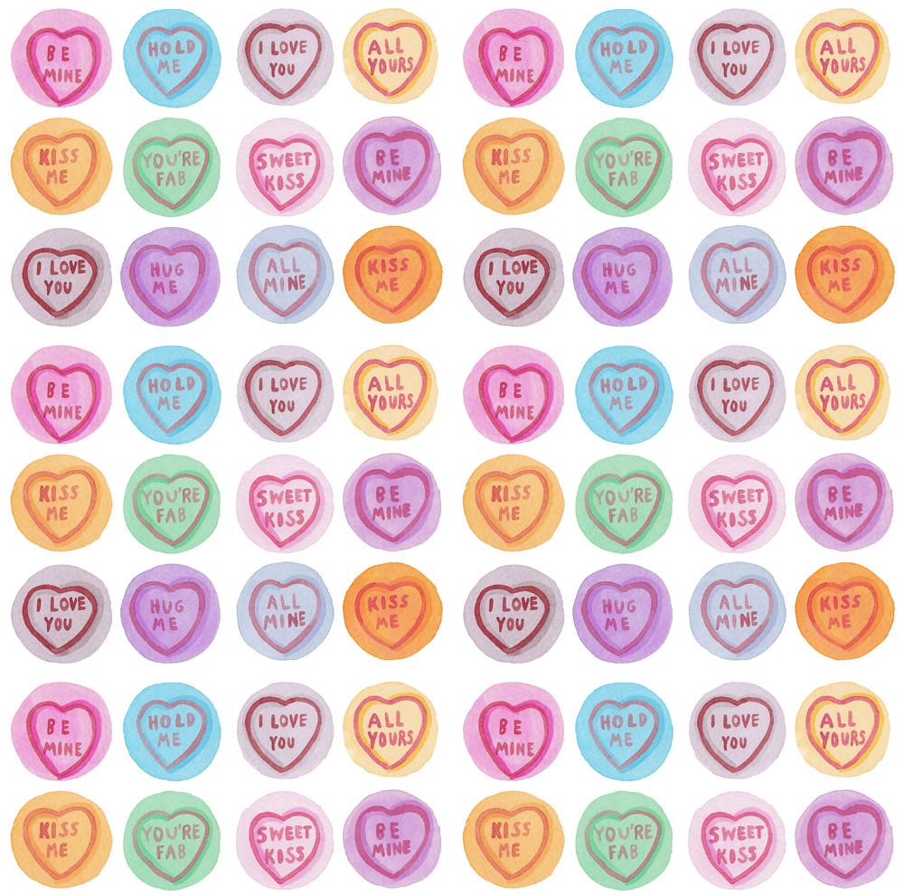 love hearts pattern laura manfre flickr