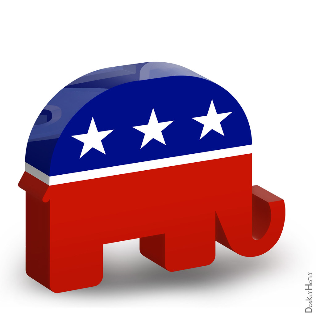 republican elephant - 3d icon | republican elephant - 3d ico… | flickr